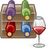 Wine bottle management Icon
